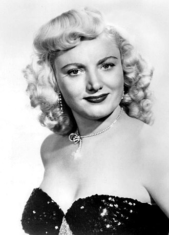Dagmar (American actress) - Publicity photo, 1958