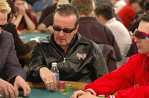 Dave Ulliott - Dave Ulliott on the 2005 World Series of Poker