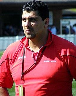 David Bayssari Lebanese former professional rugby league footballer
