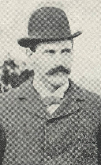 D. M. Balliet - Balliet cropped from the 1894 Purdue team photo
