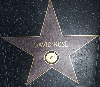 David Rose (songwriter) - Star on the Hollywood Walk of Fame at 6514 Hollywood Blvd