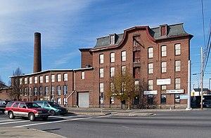 Fall River, Massachusetts - Davol Mills