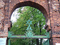 Day 1- The entrance of the jewish cemetery of Lodz (45073635).jpg