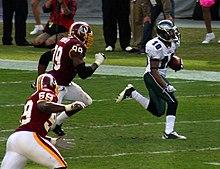 Desean Jackson During Game Against The Washington Redskins