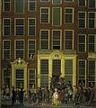 De boekhandel en het loterijkantoor van Jan de Groot in de Kalverstraat in Amsterdam Rijksmuseum SK-A-4026.jpeg