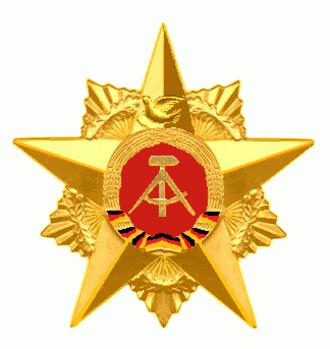 Star of People's Friendship - Image: De grote gouden ster van de Orde van de Volkerenvriendschap 2
