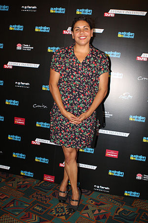 Deborah Mailman - Mailman at Australian Film Walk of Fame at Randwick Ritz, The Spot Festival