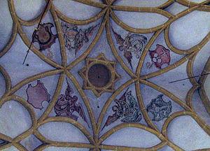 Göss Abbey - Deckenmalerei in der Kirche