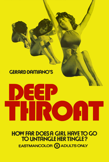 <i>Deep Throat</i> (film) 1972 film by Gerard Damiano