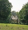 Defunct footbridge over M27 east of junction 3 - geograph.org.uk - 974582.jpg