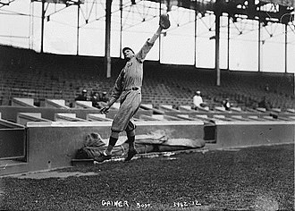 Del Gainer - Del Gainer, Boston Red Sox, 1915