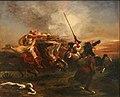 Delacroix-exercices militaires.JPG