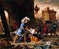 Delacroix - Amadis de Gaule Delivers a Damsel from Galpan's Castle, 1860.jpg