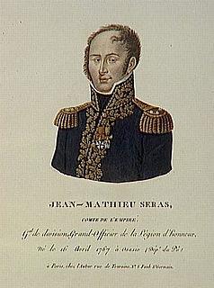 Jean Mathieu Seras French general