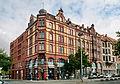 Denkmalgeschütztes Eckgebäude von Riesle & Rühling (1891-1892) in der Leinstraße 25 (Hannover) IMG 8991.JPG
