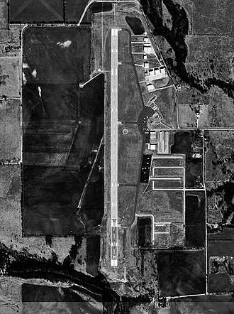 Denton Enterprise Airport - USGS aerial image, January 1996