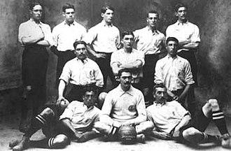 Deportivo de La Coruña - Deportivo Sala Calvet in 1908