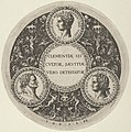 Design for a Dish with Portraits of the Roman Emperors Tiberius, Vespasian, and Titus MET DP837268.jpg