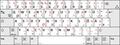 Deutsche Tastaturbelegung E2 nach DIN 2137-01--2018-12 auf deutscher Hardware mit Shift-Lock-Symbol.png