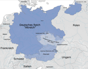 Territorial evolution of Germany - Germany in 1939 before the start of World War II