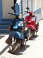 Deux scooters à zanzibar.jpg