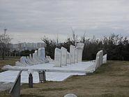 Devlet mezarlığı Savaşlar Bölümü