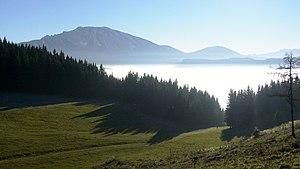 Ötscher and Naturpark Ötscher-Tormäuer in Lower Austria