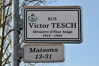 Victor Tesch son of Jean Frédéric Hugo Tesch and Marie-Cécile Nothomb