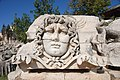 Didyma, Temple of Apollo, Head of the Medusa, Turkey - panoramio.jpg