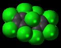 Dienochlor molecule spacefill.png