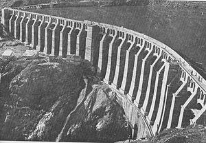 Gleno Dam - Image: Diga gleno