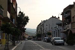 Dimitrovgrad, Serbia - Image: Dimitrovgrad City Centre