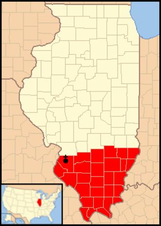 Roman Catholic Diocese of Belleville - Image: Diocese of Belleville map 1