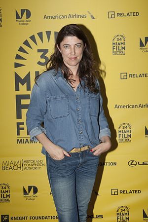 Stéphanie Di Giusto - di Glusto at the 2017 Miami International Film Festival presentation of the film The Dancer