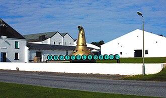 Bruichladdich distillery - Image: Distilleryview 2