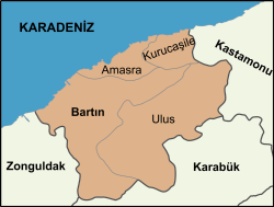Districts of Bartın Province