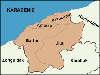 Bartın Province Province of Turkey in West Black Sea