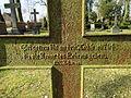 Dobbertin Klosterfriedhof Grabstein Janette von Bülow Reihe 3 Platz 2 2012-03-23 266.JPG