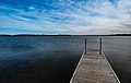 Dock on First Silver Lake - Everts Township, Minnesota (23940998198).jpg