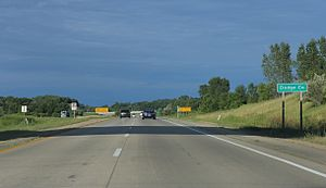 Dodge County, Wisconsin - Entering Dodge County on US 151