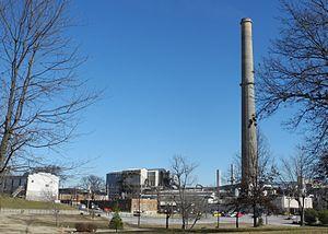 Doe Run Company - The now closed Doe Run lead smelter in Herculaneum, Missouri