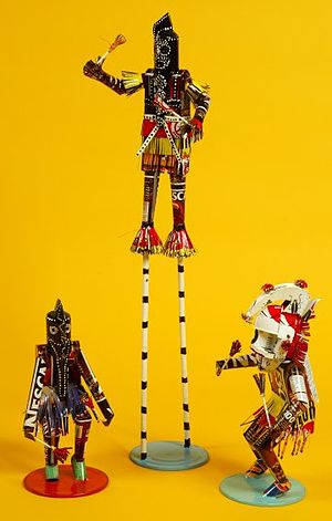Caplan Collection - Image: Dogon dancer