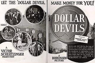 <i>Dollar Devils</i> 1923 film directed by Victor Schertzinger
