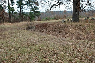 National Register of Historic Places listings in Hempstead County, Arkansas - Image: Dooley Hill Cemetery