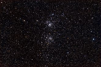 Double Cluster - Caldwell 14 - The Double Cluster taken by /u/ItFrightensMe