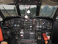 Douglas C-124 Globemaster II cockpit