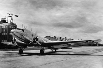 Douglas DC-2 - The C-32 at Langley Field, 1937
