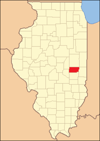 Douglas County, Illinois - Image: Douglas County Illinois 1859