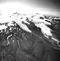 Douglas River Glacier and Four Peaked Mountain, mountain glacier terminus and firn line, August 26, 1969 (GLACIERS 6655).jpg
