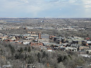 Downtown Boulder viewed from Red Rock trail.JPG